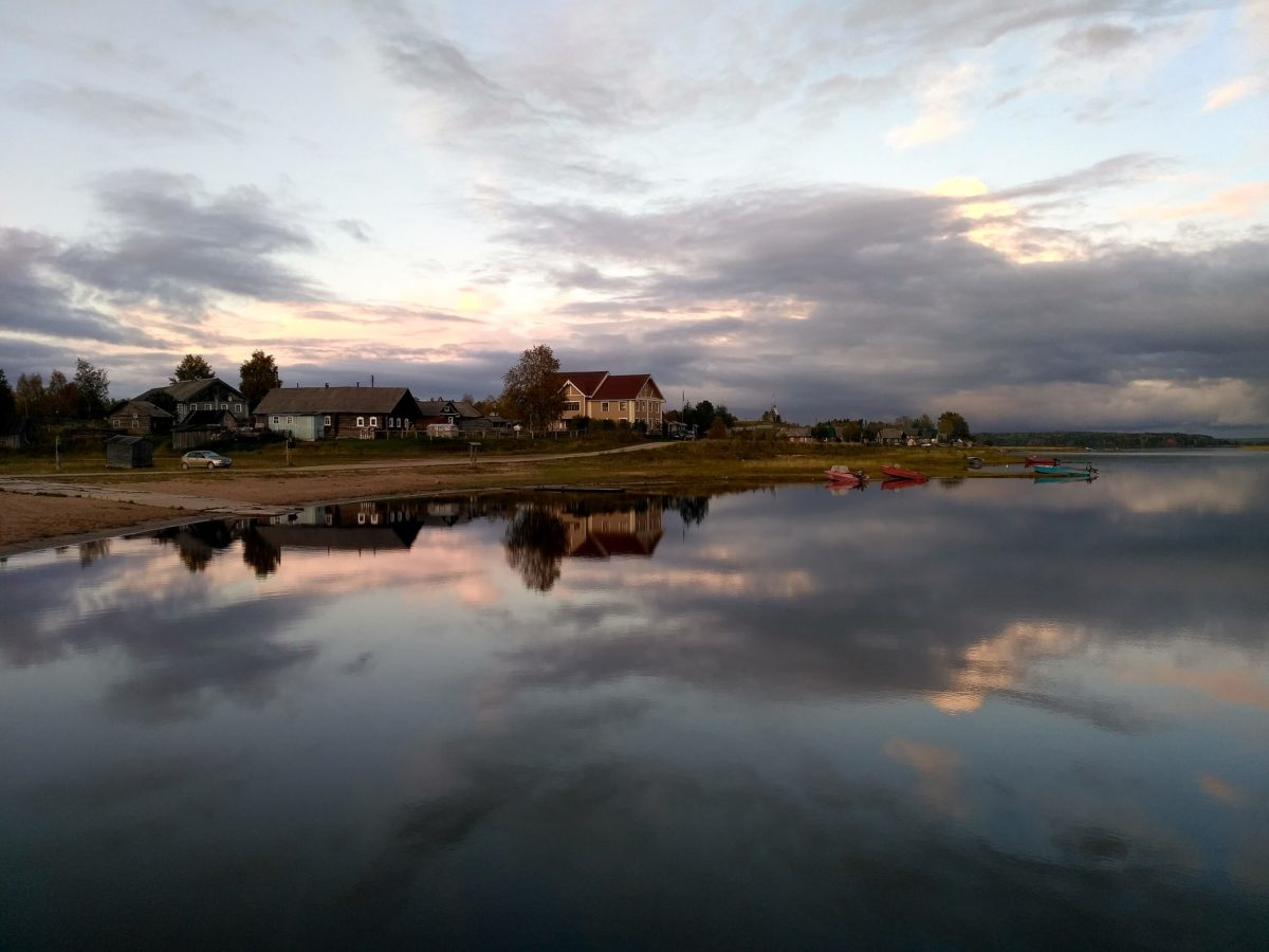 Закат над Кенозером